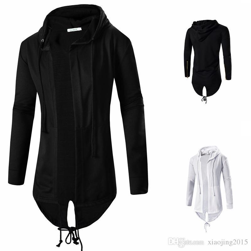 Mens Hooded Cloak Online   Mens Black Hooded Cloak for Sale