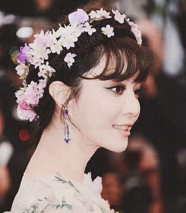 Fan Bing Hua Fairy Bride Hydrangea Flower Hairpin Wedding Dress Headwear Seaside Holiday Hair Ornament Ornaments Wreath Head Online With