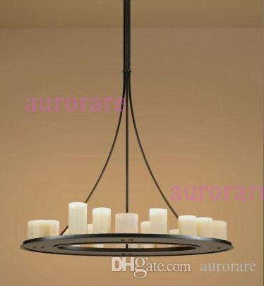 Discount Led Candle Chandelier Kevin Reilly Hemel Math Ring Modern ...