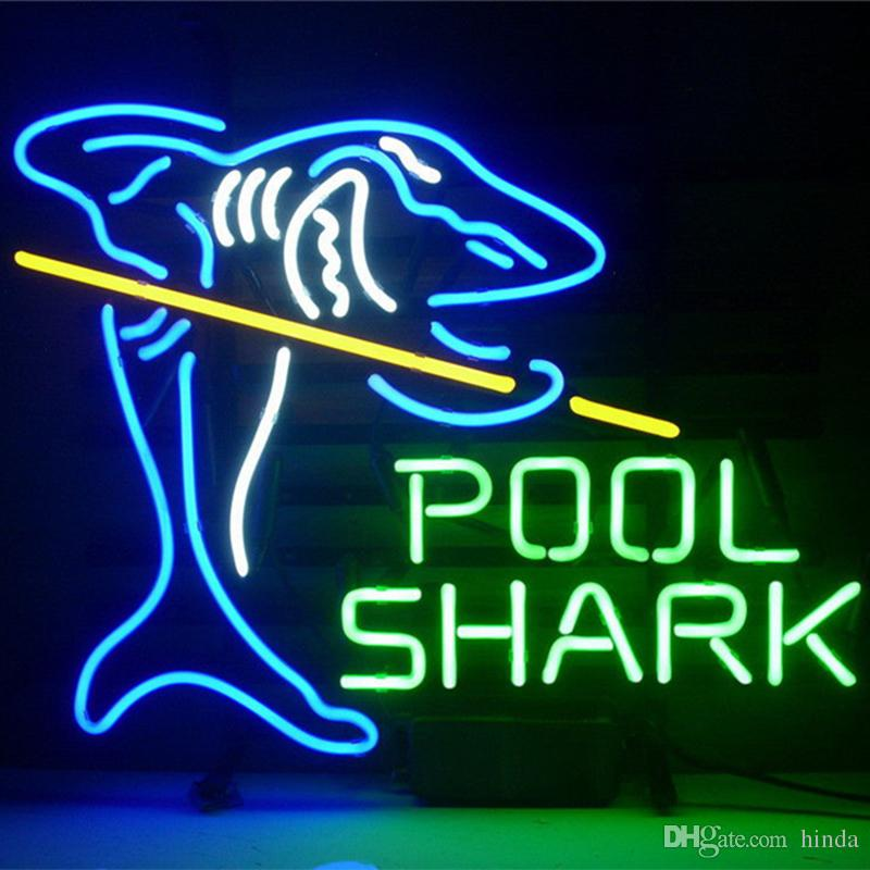 2018 pool shark glass diy led neon sign flex rope light led sign 2018 pool shark glass diy led neon sign flex rope light led sign indooroutdoor decoration rgb voltage 110v 240v from hinda 6944 dhgate aloadofball Images