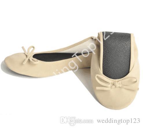 7b2c5b76b43 Compre 30 Pares Plegable Bailarina Interior Enrollan Los Zapatos De Las  Mujeres Ocasionales Del Ballet Plano Al Por Mayor De China Zapatos Planos  Damas ...