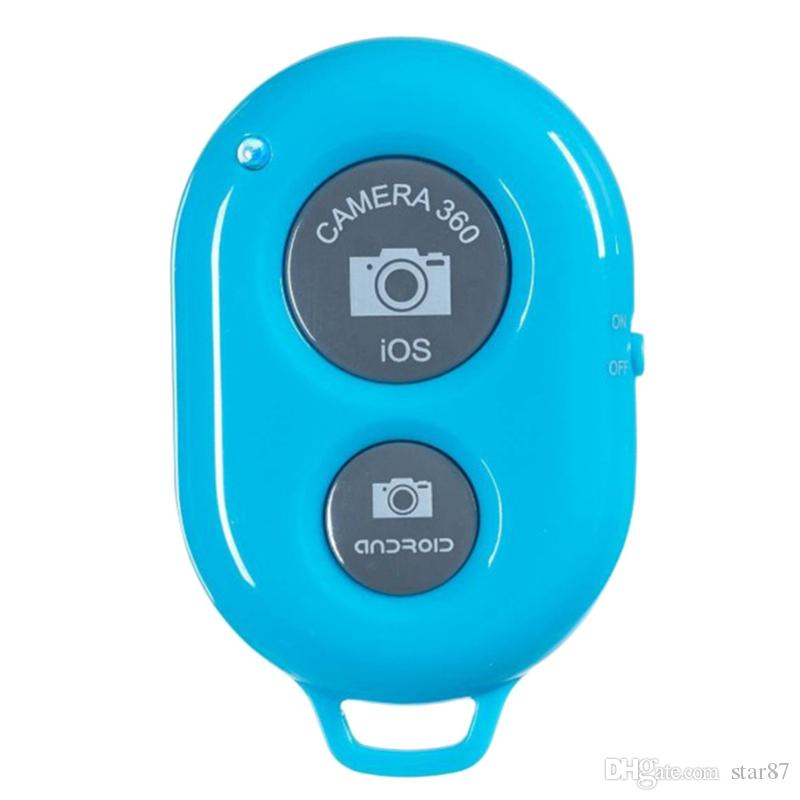 Wireless Remote Shutter for Android Cheap Self-timer Shutters for IOS Selfie Sticks Bluetooth Controller