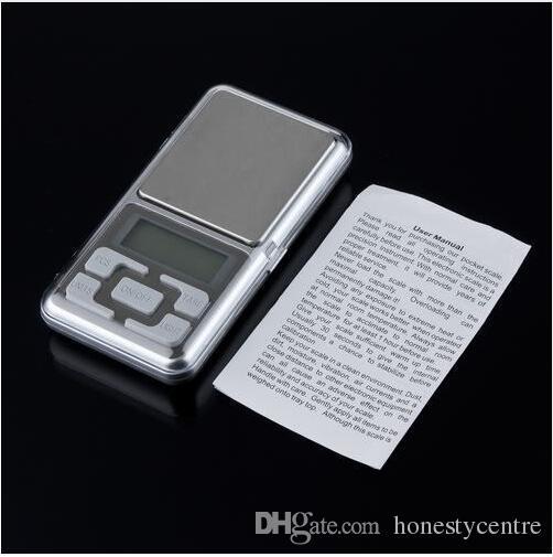 DHL Fedex 200 шт. / лот маленький карманный электронный весом 500 г 0.01 г цифровой светодиодный дисплей с подсветкой Ювелирные изделия с бриллиантами золото