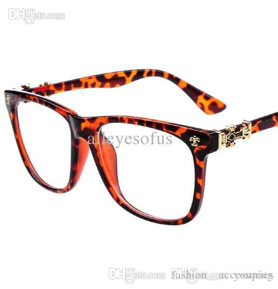 2018 New Reading Glasses Eyeglasses Frames Brand Women Men Classic ...