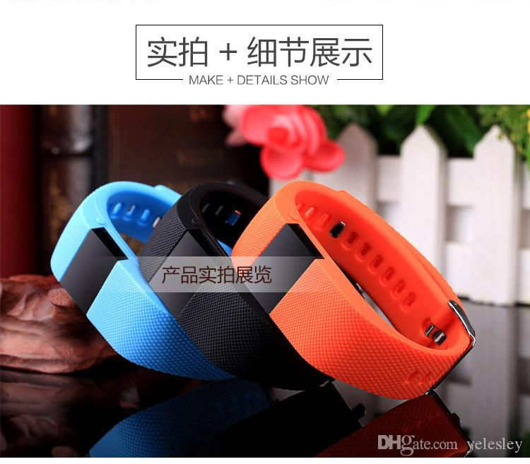 TW64 Smartband Smart sport bracelet Wristband Fitness tracker Bluetooth 4.0 fitbit flex Watch for ios android xiaomi mi band
