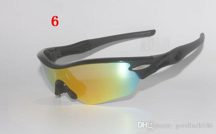 Brand designer sports men women bike bycicle cycling eyewear polarized sunglass sunglasses goggles oculos glasses 9184 5 lenses