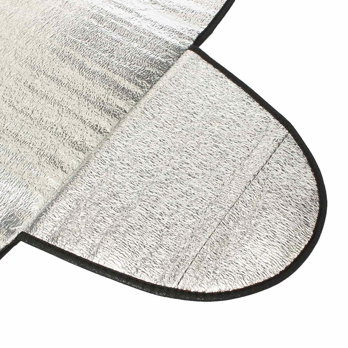 Cubierta del visor del parabrisas del coche Calor Sombra protectora contra el polvo UV Protección contra el hielo y la escarcha contra la nieve UV