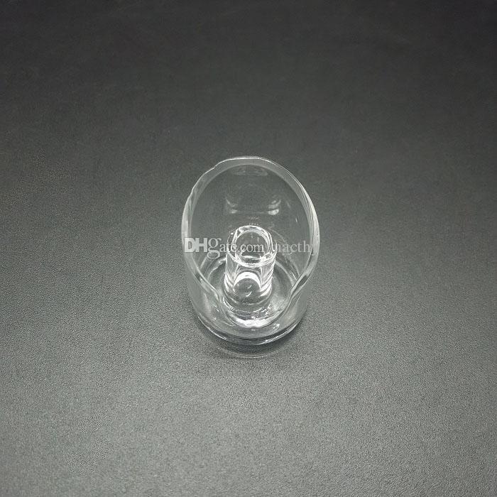 DHL Free 100% Domeless Quartz Banger Nagel Quarz Carb Cap Joint 18mm Universal Shisha Glas Pfeife Keramik Nagel Titan Nägel