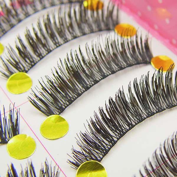 XH-макияж ручной работы мягкие природные моды длинные накладные ресницы Ресницы новый