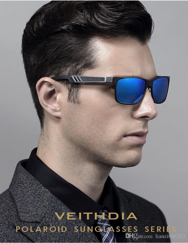 멋져 !! 뜨거운 브랜드 새로운 2017 새로운 알루미늄 편광 된 선글라스 레트로 미러 운전 안경 선글라스 패션 선글라스 HJ0017