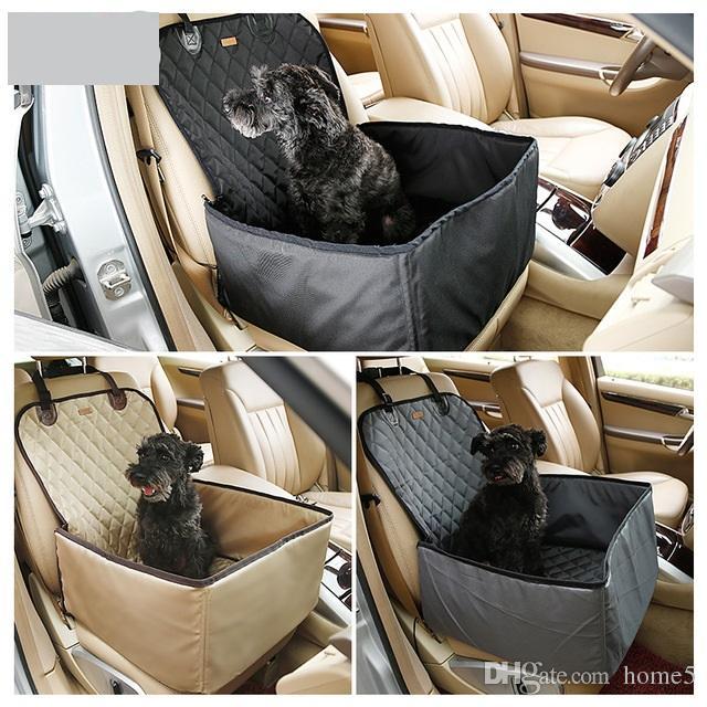 nuovo arrivo Pieghevole Pet Carrier Storage Bag Impermeabile Sicurezza Anteriore Sedile Dog Cat Car Hammock Carrier Baske