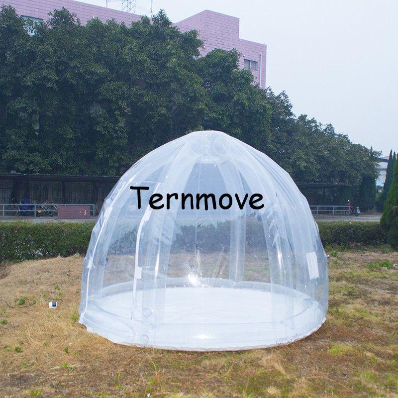 pvc garden inflatable tent1