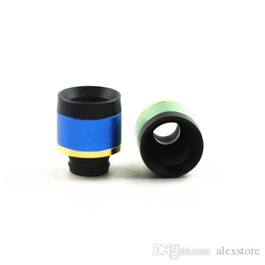 Uwell Crown 3 Drip Tip 510 Style Aluminum Resin Drip Tips Fit for Uwell Crown III Tank Atomizer Mouthpiece Coil
