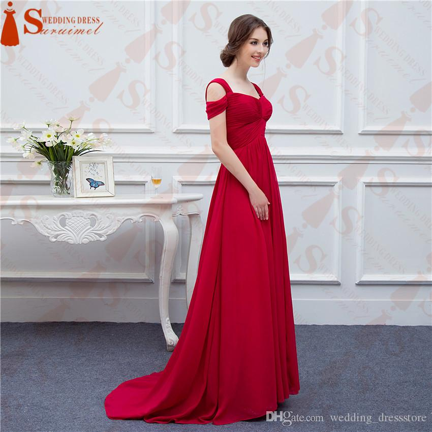 Chiffon Long Events Prom Dresses V Neck Sexy Side Slit Cap Sleeve