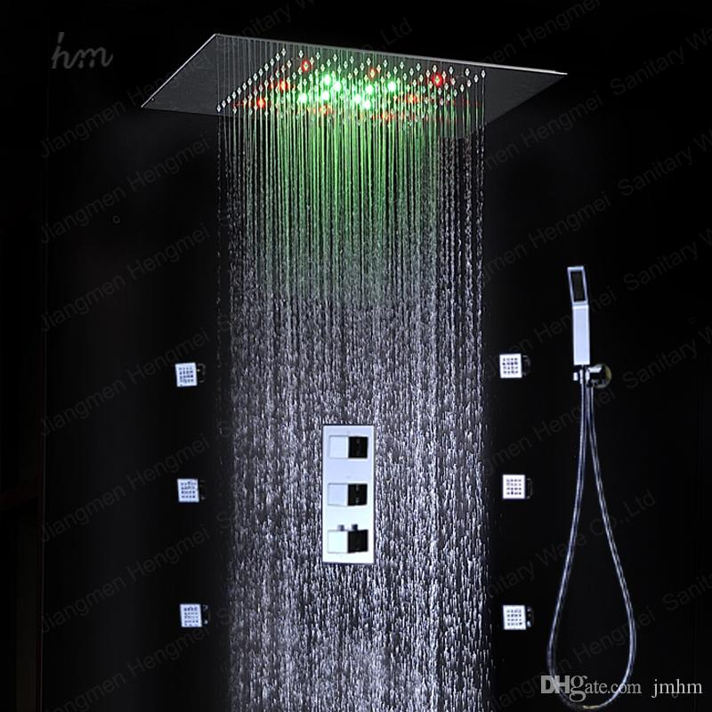 2018 European Shower Jet System 360*500mm Wall Panel Embeded ...