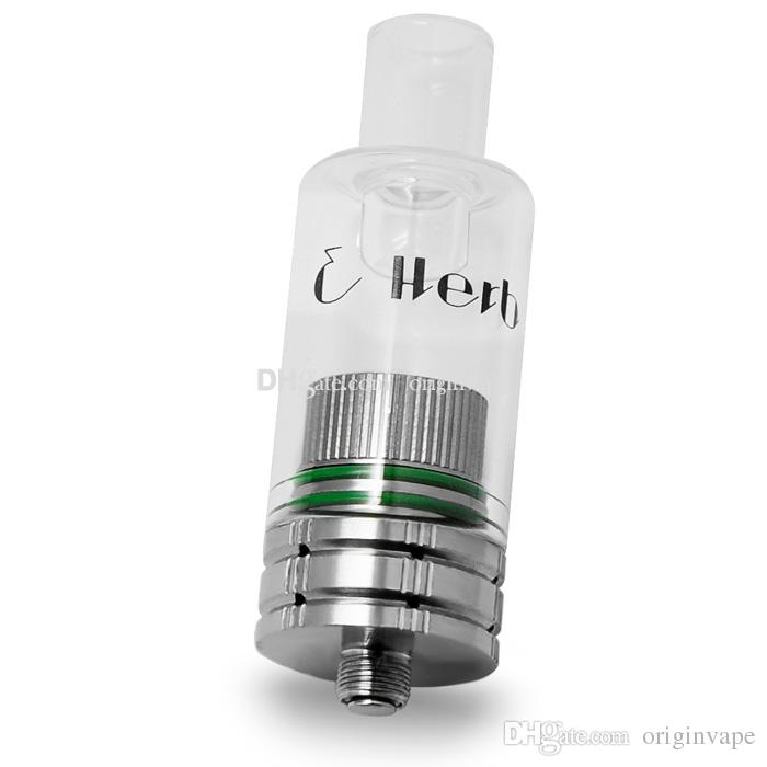 E Herb Glass Wax Atomizer Replacement Ceramic Coils Huge Capacity NO WiCK NO Coils PK Glass Globe Donut Atomizer DHL