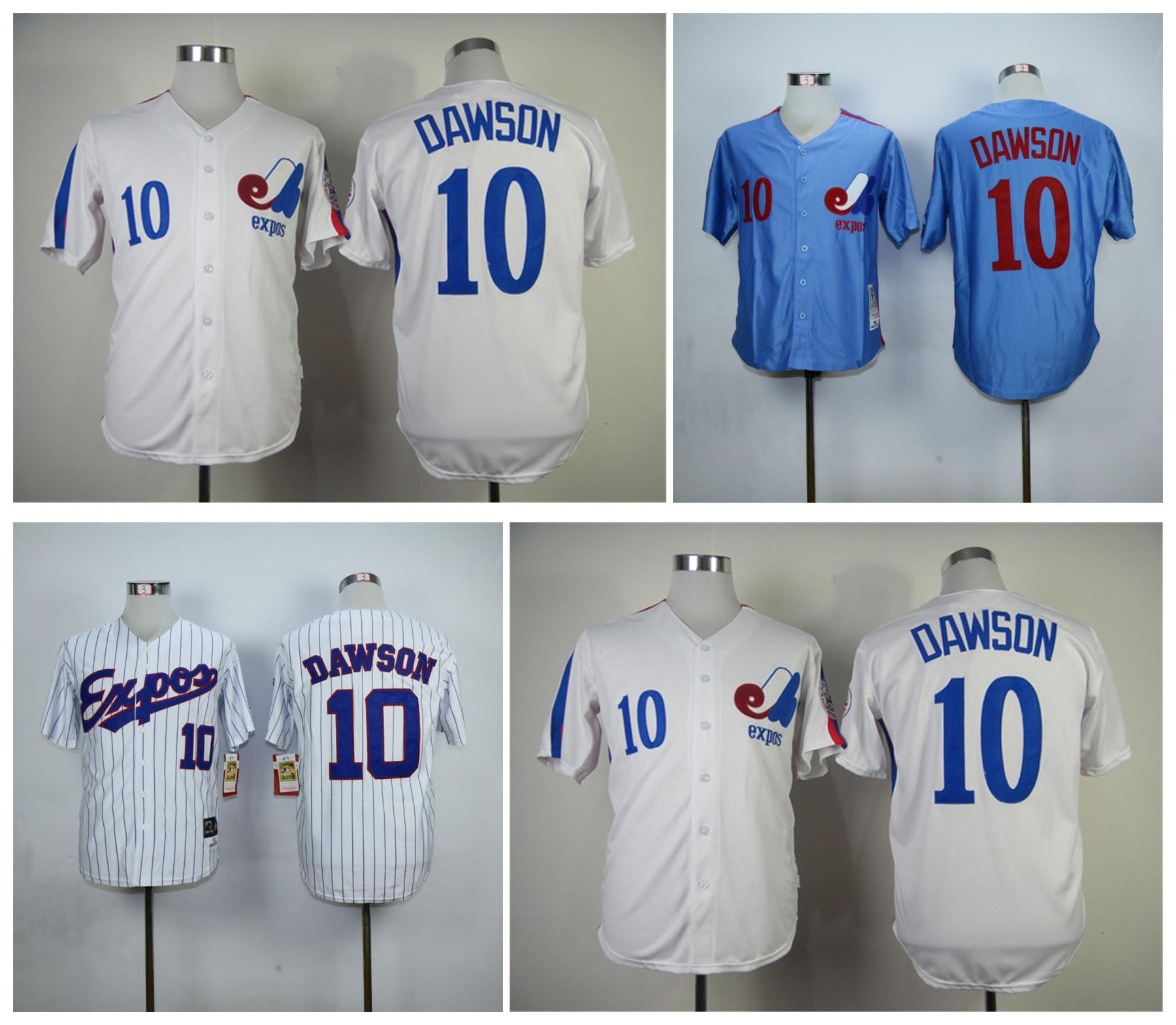 best authentic 18be5 e44d8 10 andre dawson jersey