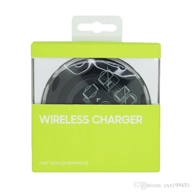 Qi Wireless Charger not fast Charging For Samsung Galaxy S8 Note 8 Iphone 8 Iphone X With Package USB Cable