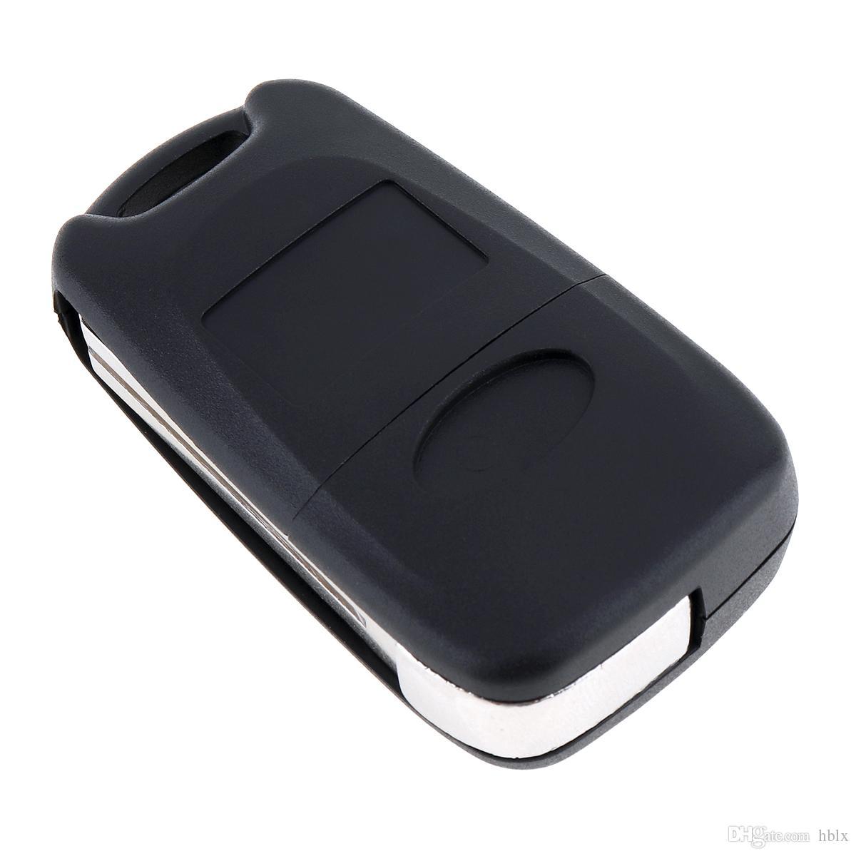 Black Uncut Blade 3 Buttons Flip Remote Key Shell No Chip For Kia Car Keys CIA_402
