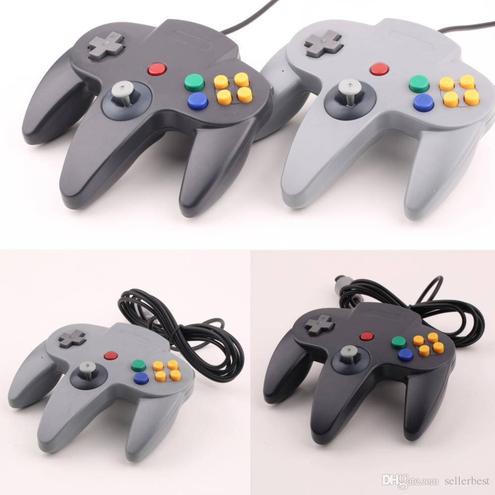 USB-Controller-Joystick mit langem Griff für den PC Nintendo 64 N64 System 5 Farbe auf Lager