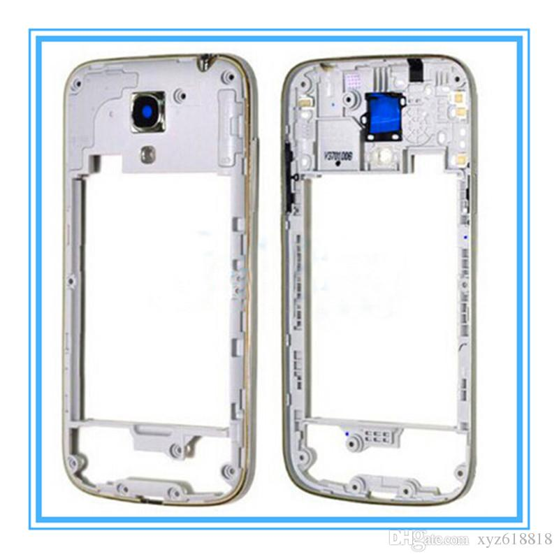 Original New Replacement Parts Middle Chassis Plate Bezel Housing Cover Frame For Samsung Galaxy S4 Mini I9190 I9192 I9195
