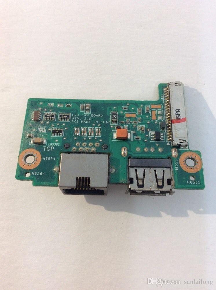 G73 LAN BOARD for ASUS G73JH Series Laptop USB2.0 Board F1-X3-q31