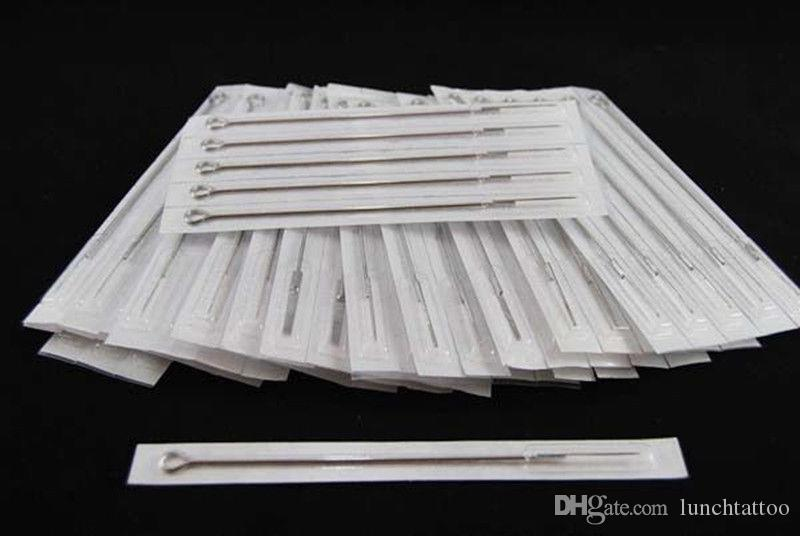 50 Pre-sterilized Sterile Disposable Tattoo Needles Tattoo supply for Tattoo Artist 7RL # 7 Round Liner