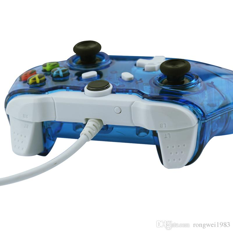 Wired Controller For Xbox One Double Vibration Joystick Gamepad For ...