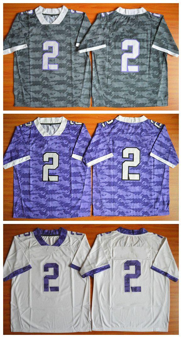 best service 45b77 4d527 tcu youth jersey for sale