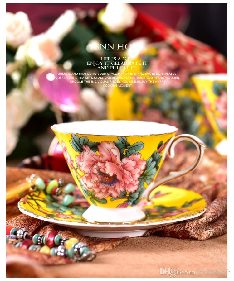 China Guangdong ceramic coffe tea cup for self using for gift beautiful design