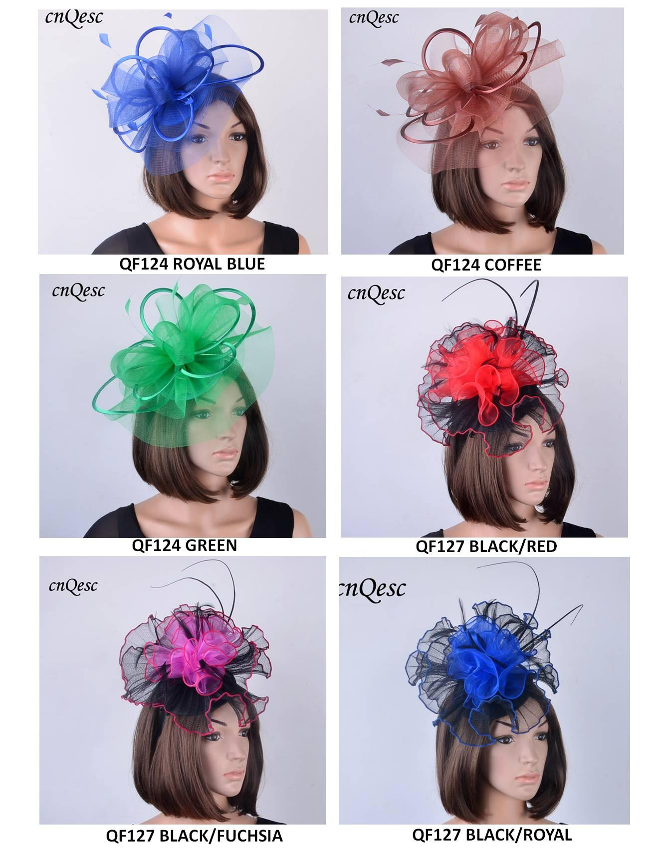 6a7f49839d6 NEW Design Sinamay Crin Fascinator Hat With Feathers
