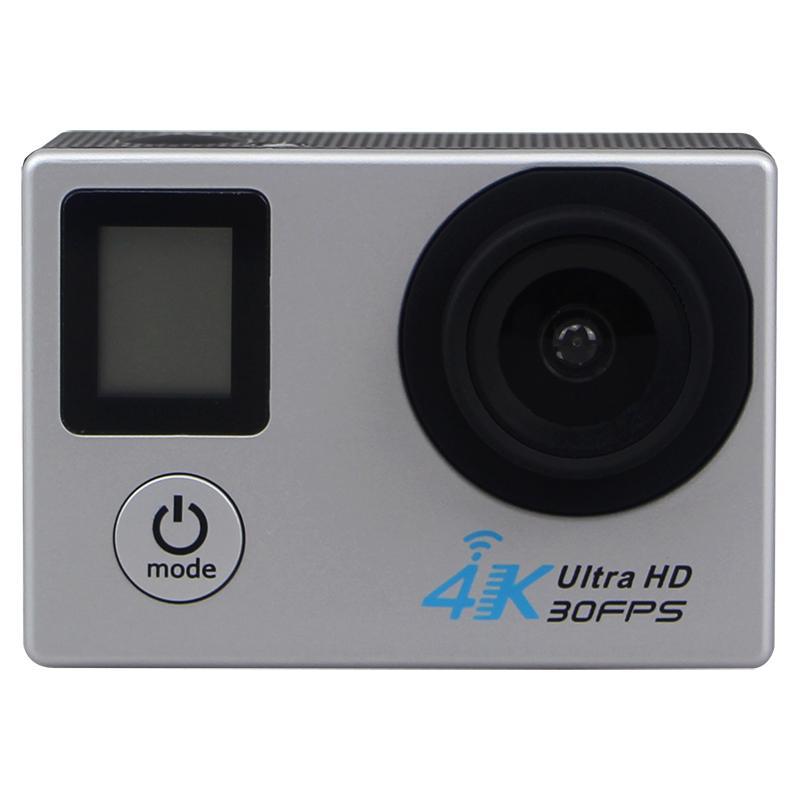 H22R 4K wifi عمل كاميرا 2.0 بوصة 170D عدسة الشاشة المزدوجة للماء المتطرفة الرياضة برو hd dvr كام متعدد الألوان