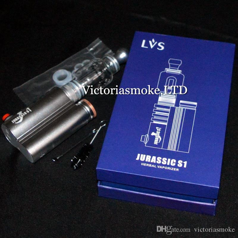 New Hot Sale Jurassic S1 herb vaporizer mod water pipe original design by LVSMOKE Victoriasmoke ecigs Dry Herb Vaporizer