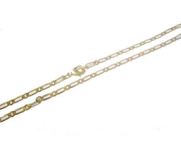 10 шт. / Лот Позолоченные Ожерелье Цепи Аксессуары для DIY Craft Ювелирные Изделия Подарок 16inch Go7