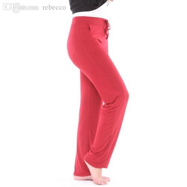 Compre Al Por Mayor Plus Tamaño 4XL Pijama Pantalones Mujeres Pantalones De  Pijama Ropa Para El Hogar Pantalones De Damas Señoras Pantalón De Algodón  Ropa ... d47c59f93e20