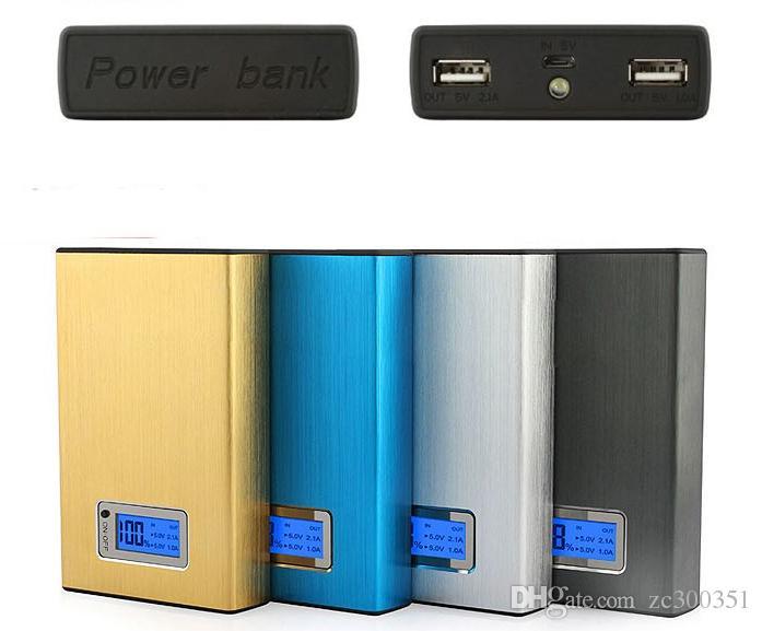 2017 Nowy Bank Power 12000MAH LED zewnętrzna bateria Przenośna mobilna szybka ładowarka Powerbank dla iPhone 6 tabletu przez UPS