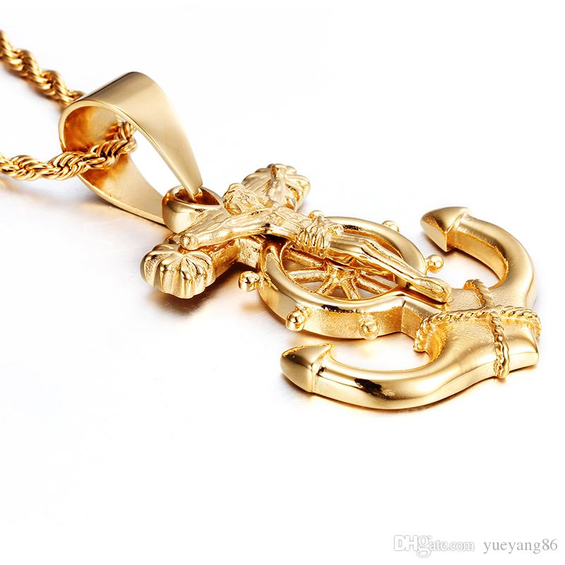 Cool Gift Fashion Classical GOLD FILLED 4MM ACERO INOXIDABLE 22