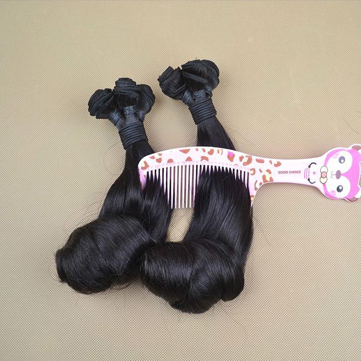 "New Magical Curls Funmi Hair 12-28"" Brazilian Hair Nigeria Aunty Funmi Bouncy Curly Weave 3 Bundles Best Hair Extensions"