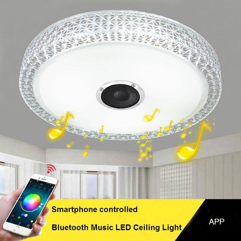 Großhandel Smartphone Gesteuert Deckenleuchte Led Bluetooth Musik  Deckenleuchte Kunst Dec Beleuchtung Studie Kinderzimmer Deckenleuchte Von  Kede, ...