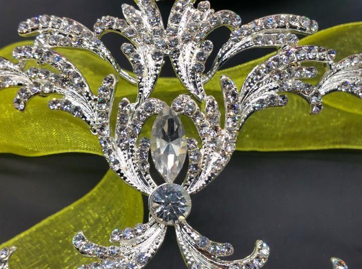 FAI DA TE Strass di Cristallo maschera Veneziana Mascherata Maschere donne sexy Metallo eyemask wedding gallina notte festa maschera puntelli di Natale regalo