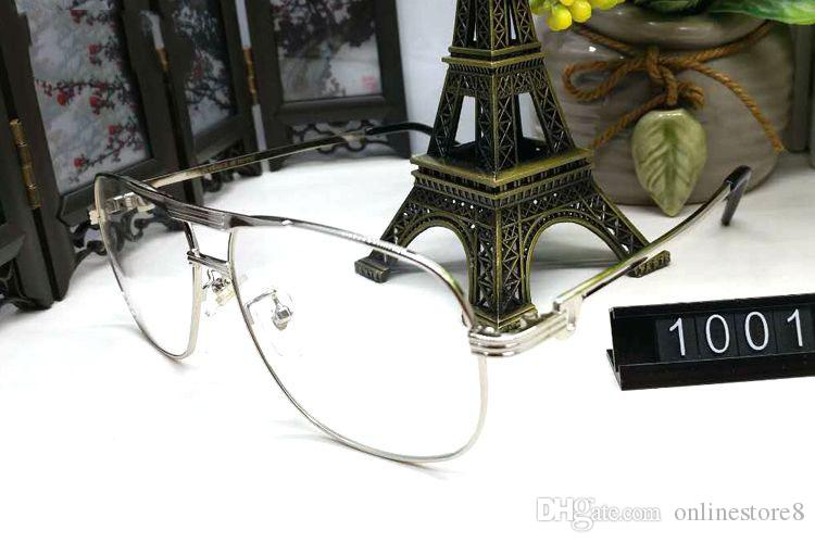 إطارات سبيكة الكلاسيكية الجاموس مرآة نظارات أزياء الرجال البيضاوي عدسة النظارات الشمسية هلالية