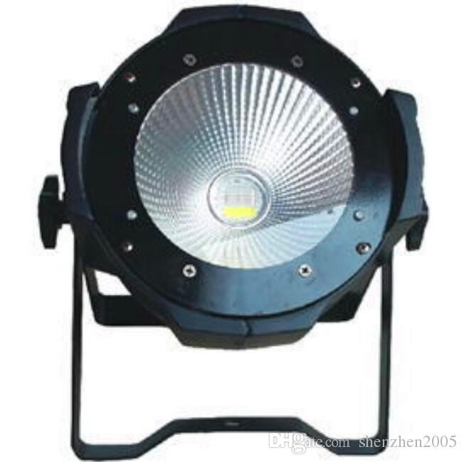 Professional Stage Lighting 100W COB LED Pan Can /led Par64 DMX 100 Watt COB Par LED Stage Light Warm Yellow
