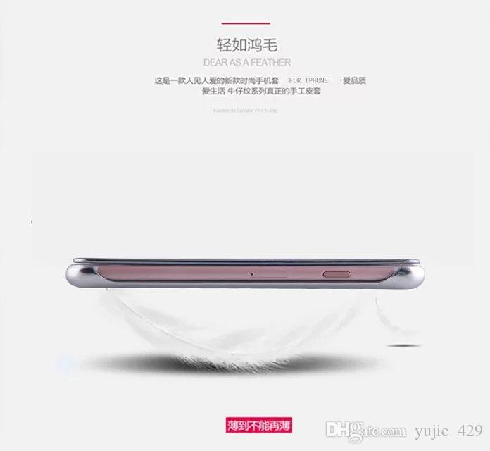 Nuovo iphone7 / iphone7 plus shell custodia protettiva del telefono cellulare guscio specchio di placcatura di Apple