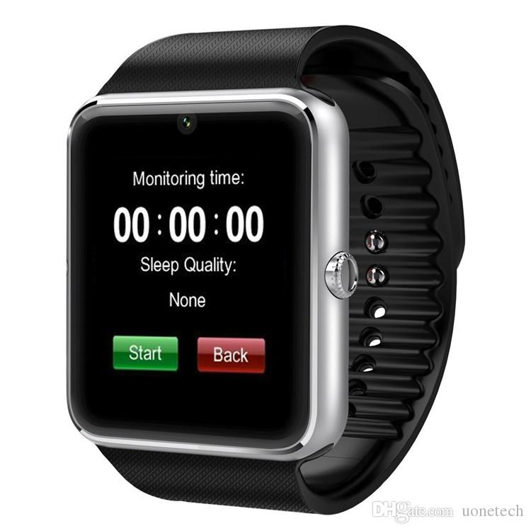 GT08 смарт-часы DZ09 браслет Bluetooth с шагомер камеры мониторинга сна сидячий напоминание совместимая платформа Android IOS