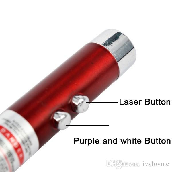 Neue Ankunft multifunktionale Mini 3 in1 LED Laserlicht Zeiger Schlüsselanhänger Taschenlampe Mini Taschenlampe Taschenlampe Geld Detektor Licht