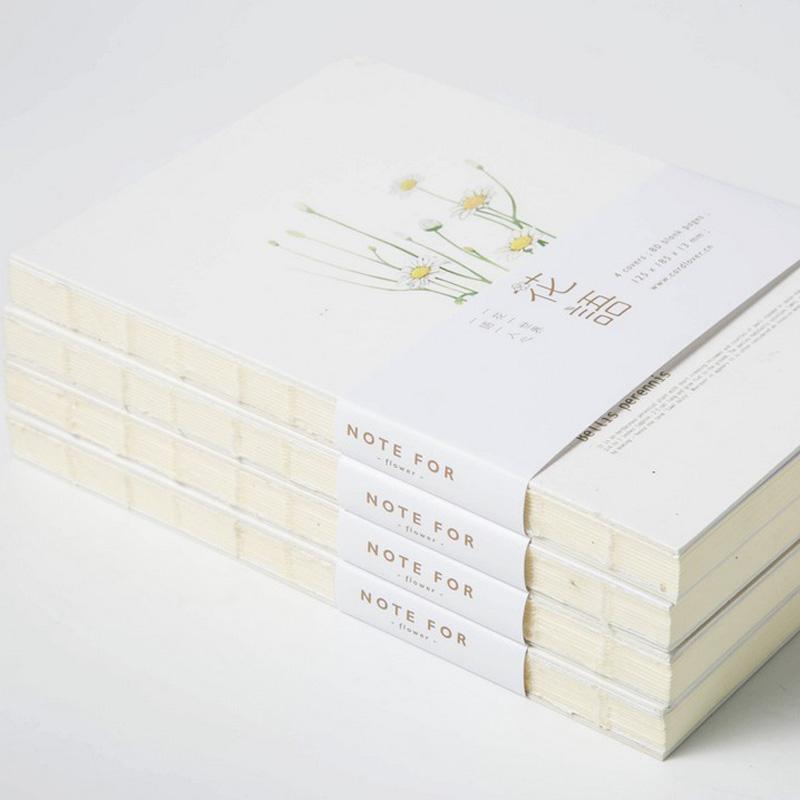 Wholesale Daily Memos Mm Blank Paper Sketchbook Cute Planner