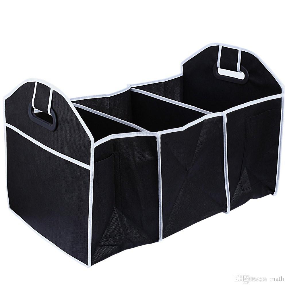 Auto Organizer Boot Stuff Lebensmittel Aufbewahrungstaschen Kofferraum Organizer Auto Stauen Aufräumen Innenausstattung Falten Zusammenklappbar