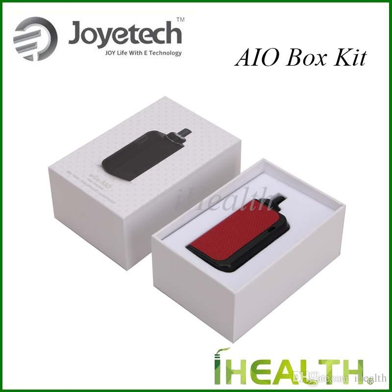 Joyetech eGo AIO Kutusu Başlangıç Kiti 2100 mAh Dahili Pil Anti-sızıntı Yapısı ile 2 ml Tank Kapasitesi Çocuk Kilidi 100% Orijinal