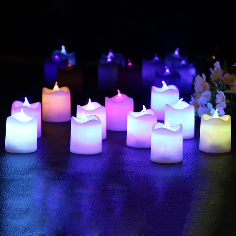 Supply small irregular wave led electronic candle light bar cheap supply small irregular wave led electronic candle light bar chamber colorful electronic candle for birthday wedding decoration mozeypictures Image collections
