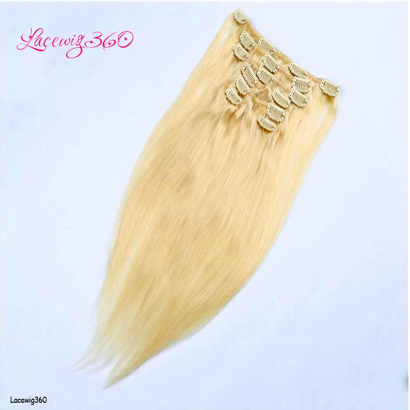 Clip in hair extensions 22clips 16 24inch 613 blode 100 clip in hair extensions 22clips 16 24inch 613 blode 100 unprocessed human hair extensions dyeable hair pieces cheap price dark blonde hair extensions pmusecretfo Image collections
